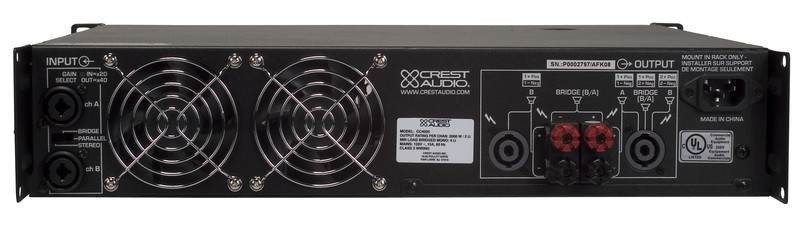 Crest Audio CC4000